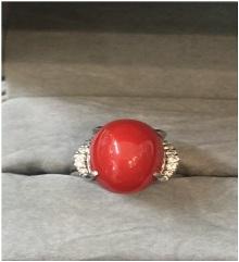 赤珊瑚指輪