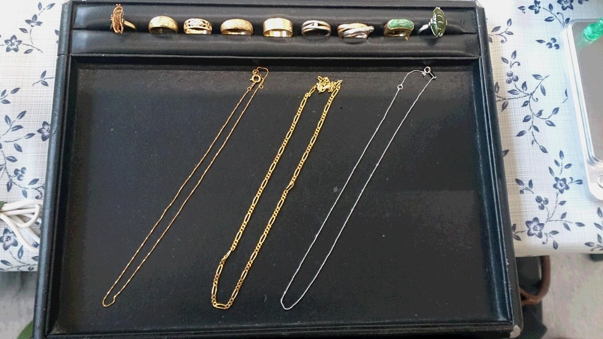 金、プラチナ、銀製品買取 山梨県のお客様