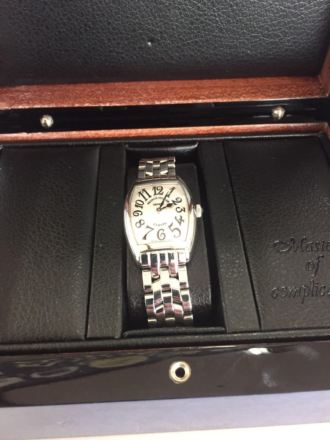 フランクミューラー 時計 買取