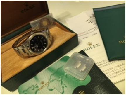 ロレックス買取・エクスプローラ1 ref114270 東京都のお客様