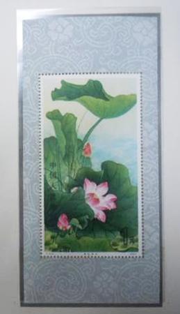 中国切手買取 蓮の花 小型シート 近畿のお客様