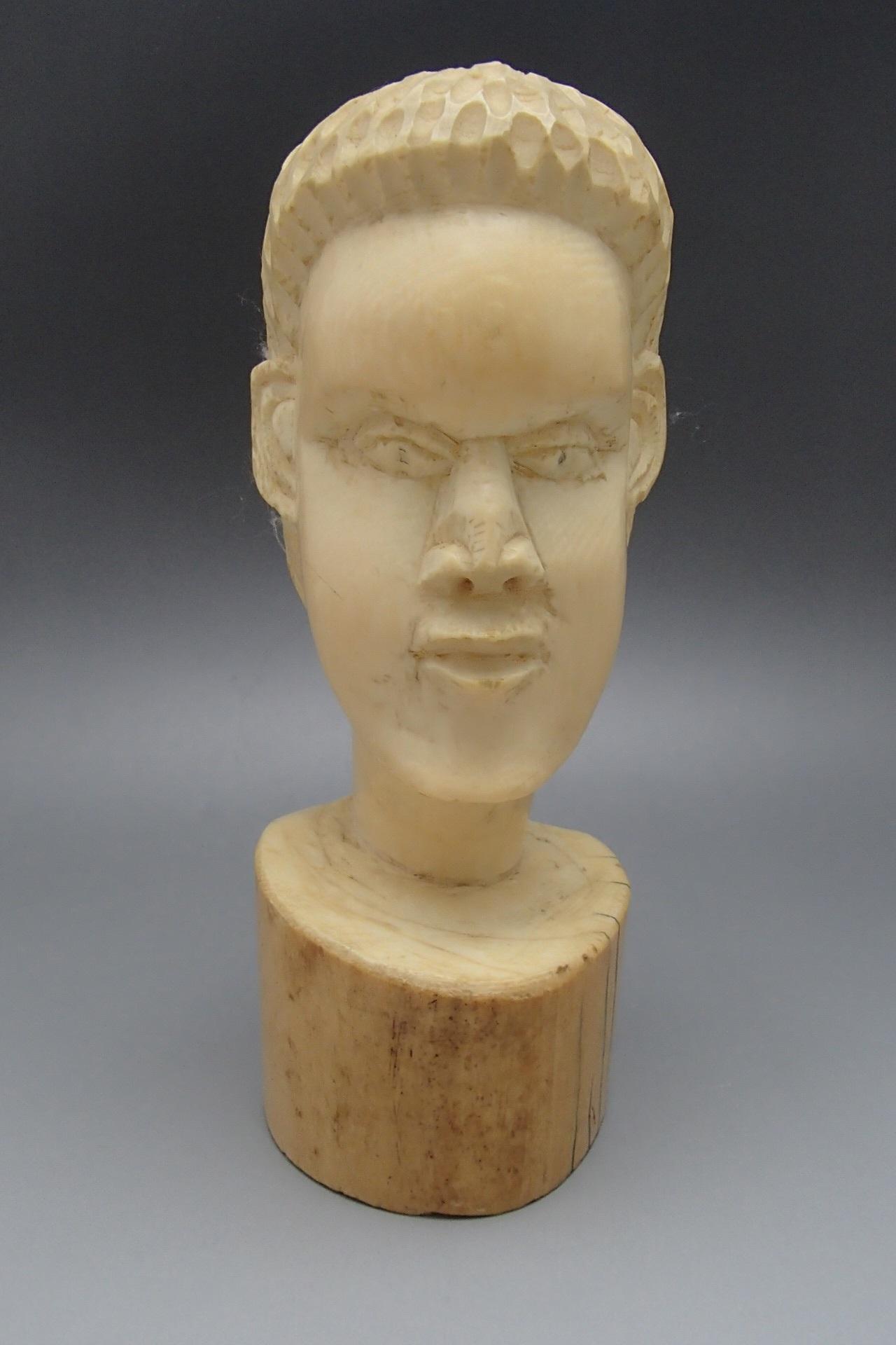 象牙買取 アフリカ系 人物像 1250g 千葉県のお客様