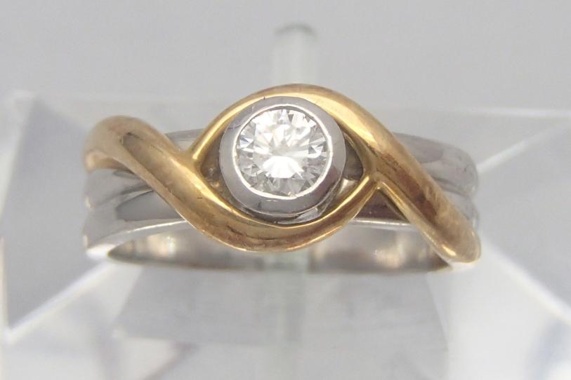 ダイヤ買取 ダイヤリング 0.2ct 群馬県のお客様