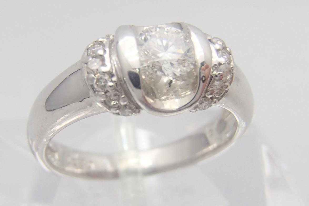 ダイヤ買取 pt900 ダイヤモンドリング 滋賀県のお客様