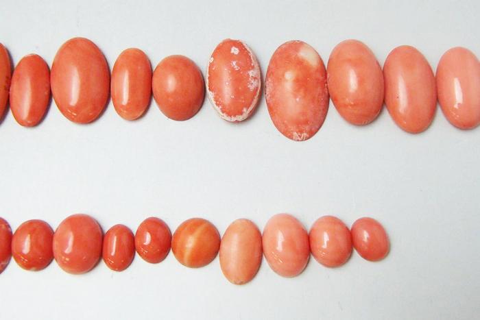 珊瑚買取 桃サンゴ ルース 東京都のお客様