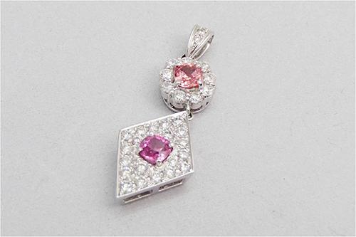 宝石買取 ピンクサファイア トップ 0.56ct 千葉県のお客様