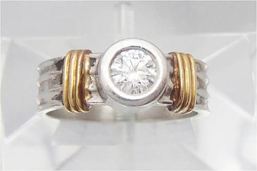 ダイヤ買取 ダイヤモンド リング 0.63ct 東京都のお客様