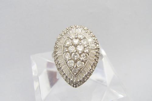ダイヤ買取 ダイヤモンド リング 1.07ct 青森県のお客様