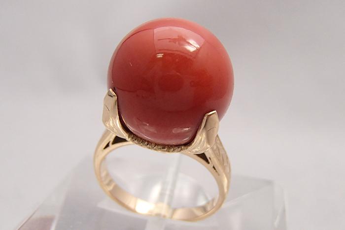 45,000円で買取した珊瑚のリングとは