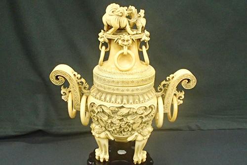 象牙製香炉