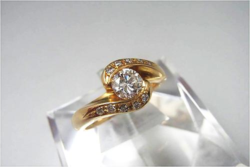ダイヤ買取 ダイヤモンド リング 0.80ct 東京都のお客様