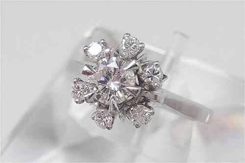 ダイヤ買取 ダイヤモンド リング 0.73ct 東京都のお客様