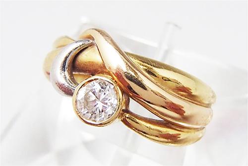 ダイヤ買取 ダイヤモンド リング 0.47ct 埼玉県のお客様