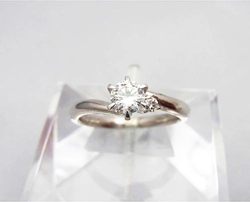 ダイヤ買取 ダイヤモンド リング 0.4ct 東京都のお客様