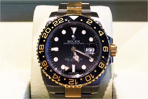 ロレックス買取 GMTマスター Ref.116713LN 東京都のお客様