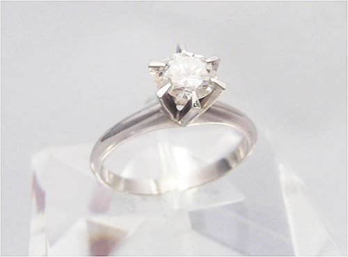 ダイヤモンドの大きさと値段の関係性について