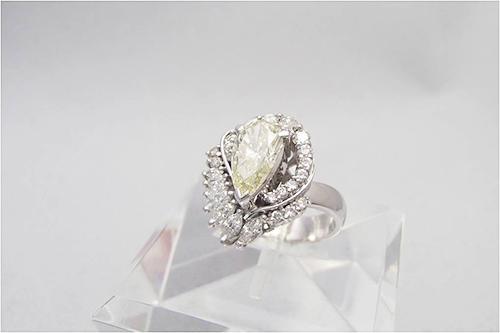 ダイヤ買取 ダイヤモンド リング 1.5ct 東京都のお客様