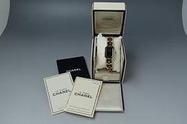 シャネル プルミエールの時計 を高価買取しました。