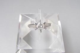 ダイヤモンド リングを高価買取しました。 東京都のお客様