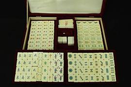 象牙の麻雀牌を高価買取しました。