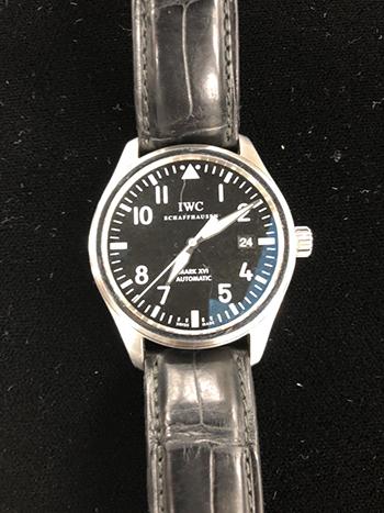 IWC 時計 マーク16 高価買取しました。東京都のお客様。