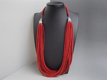 赤珊瑚 ネックレス 高価買取させていただきました。東京都のお客様