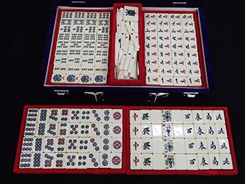 本象牙 麻雀牌 背竹 ケース付 高価買取しました。神奈川県のお客様