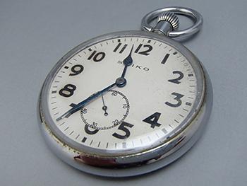 昔懐かしの懐中時計! セイコーの懐中時計の査定ポイント!