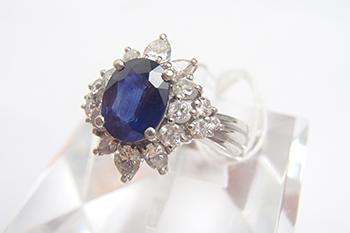 サファイアリングを高価買取! 宝石の査定に関する3つのポイント紹介!