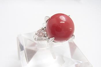 赤珊瑚のリングを高価買取! 丸玉の大きさは査定にどのように関係する?