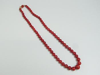 赤珊瑚丸玉ネックレスはなぜ高く売れる? 高く売れる秘密を大公開!!