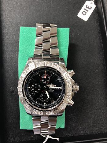 ブライトリングの時計を高価買取! 鑑定士は査定においてどこを見る??