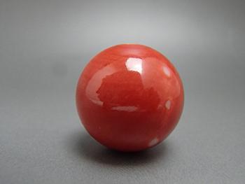 赤珊瑚 丸玉3