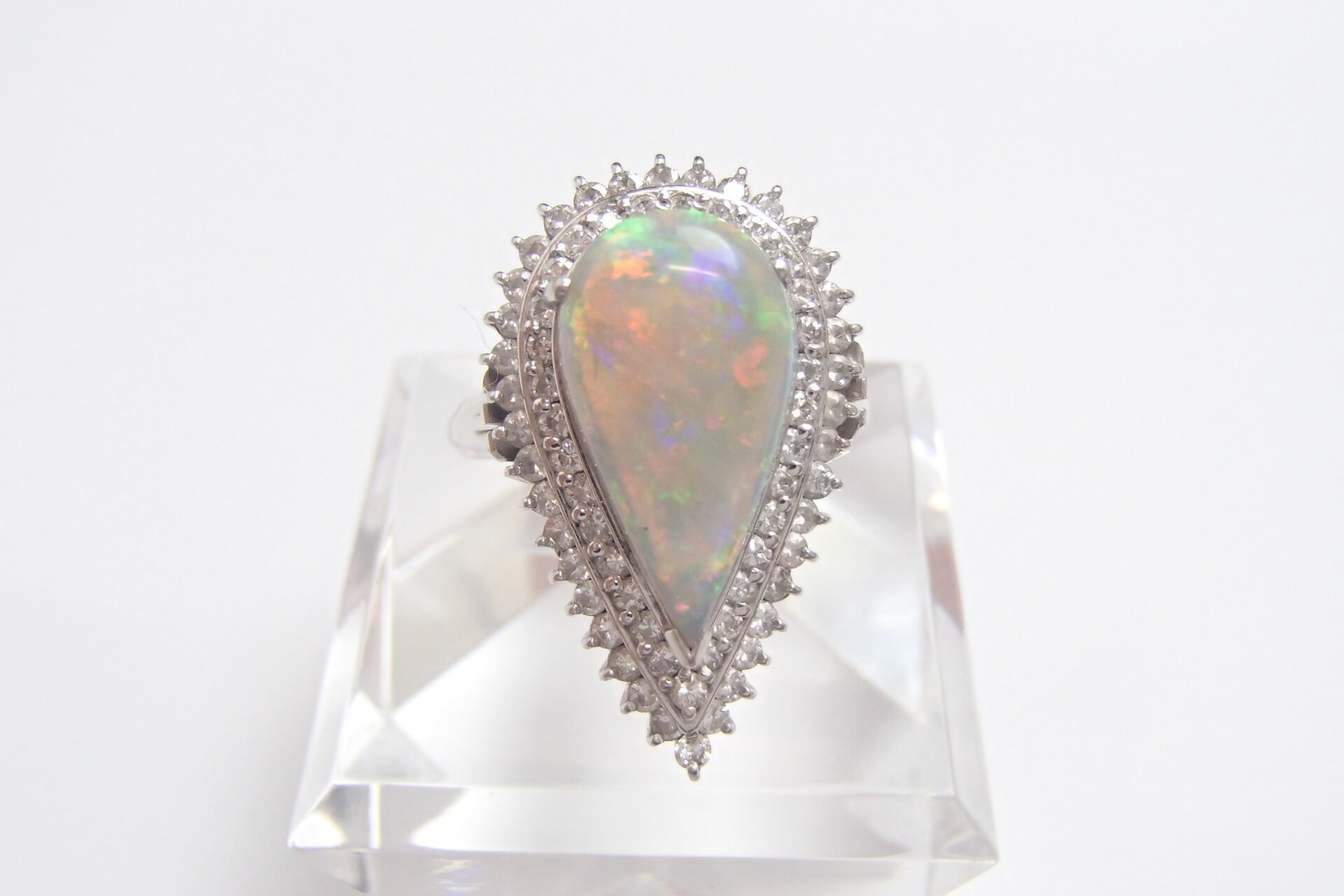 パールの指輪を買取しました! パールとメレダイヤだけでどれほどの価値がある?