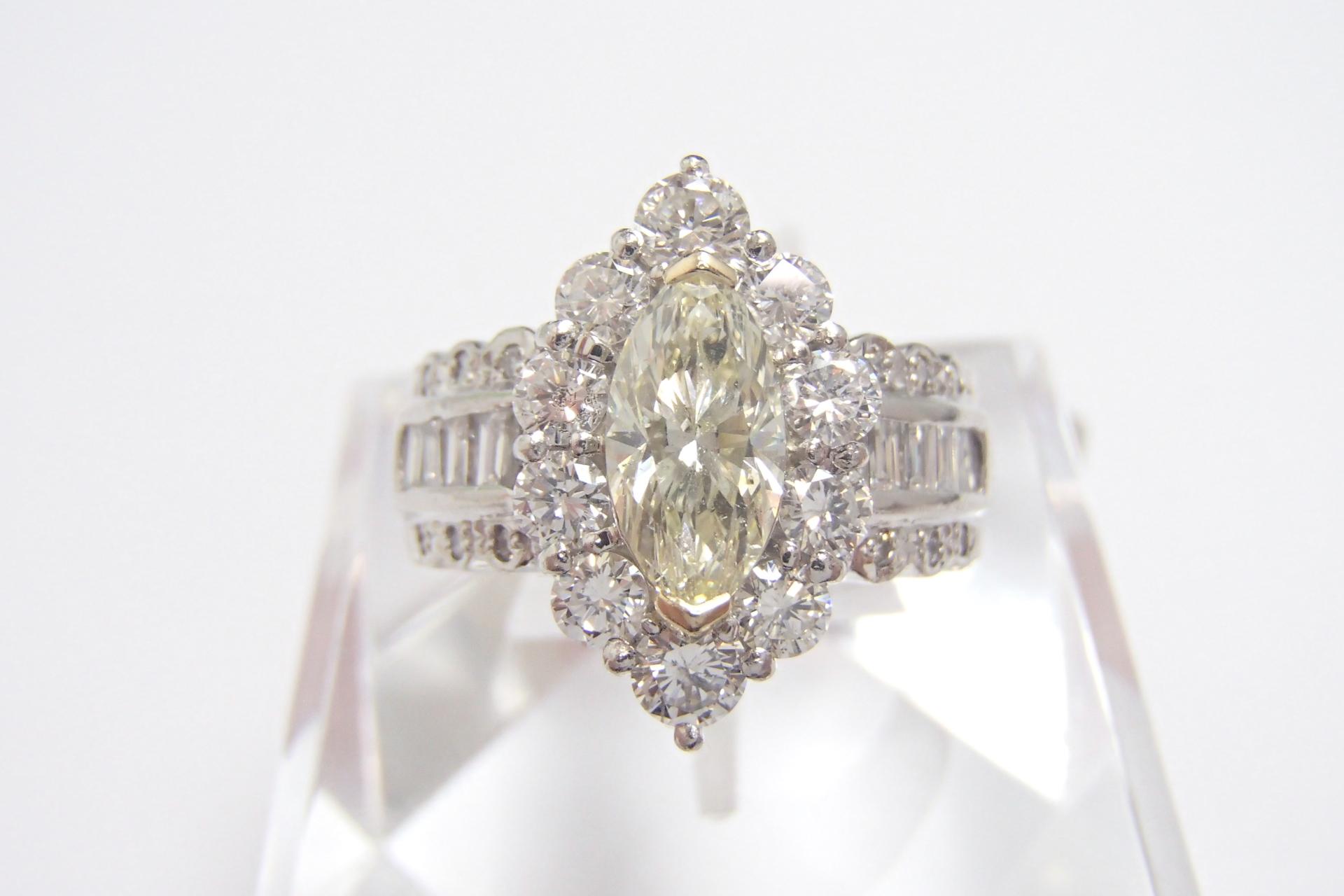 【買取実績】『ダイヤ付きプラチナリング』商品の買取しました