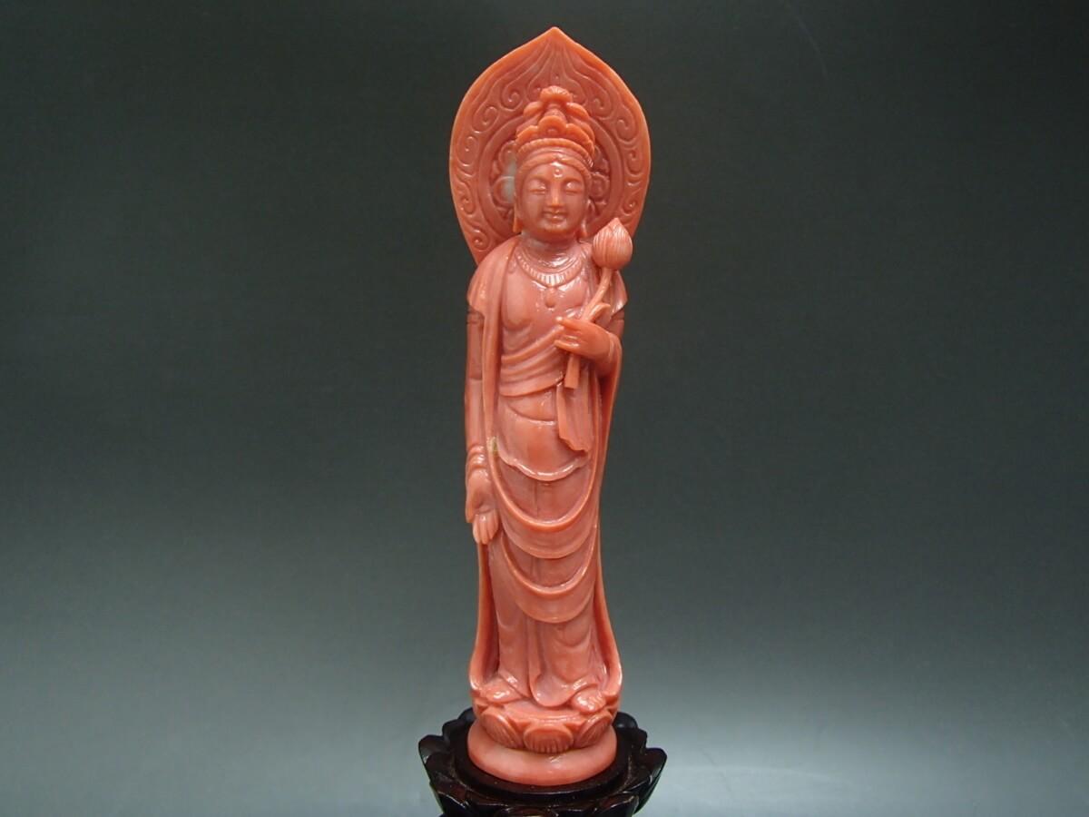 桃珊瑚の彫刻品を買取! 東京都のお客様