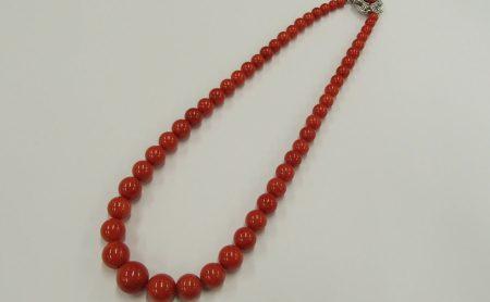赤珊瑚 ネックレス