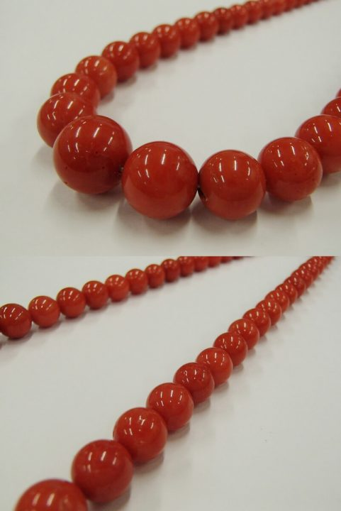 赤珊瑚 ネックレス2