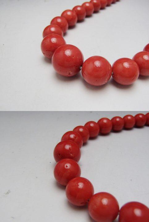 赤珊瑚 ネックレス3