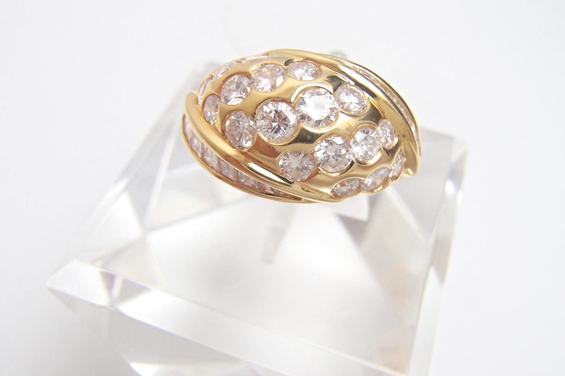 ダイヤのリングを高額買取しました! 群馬県のお客様