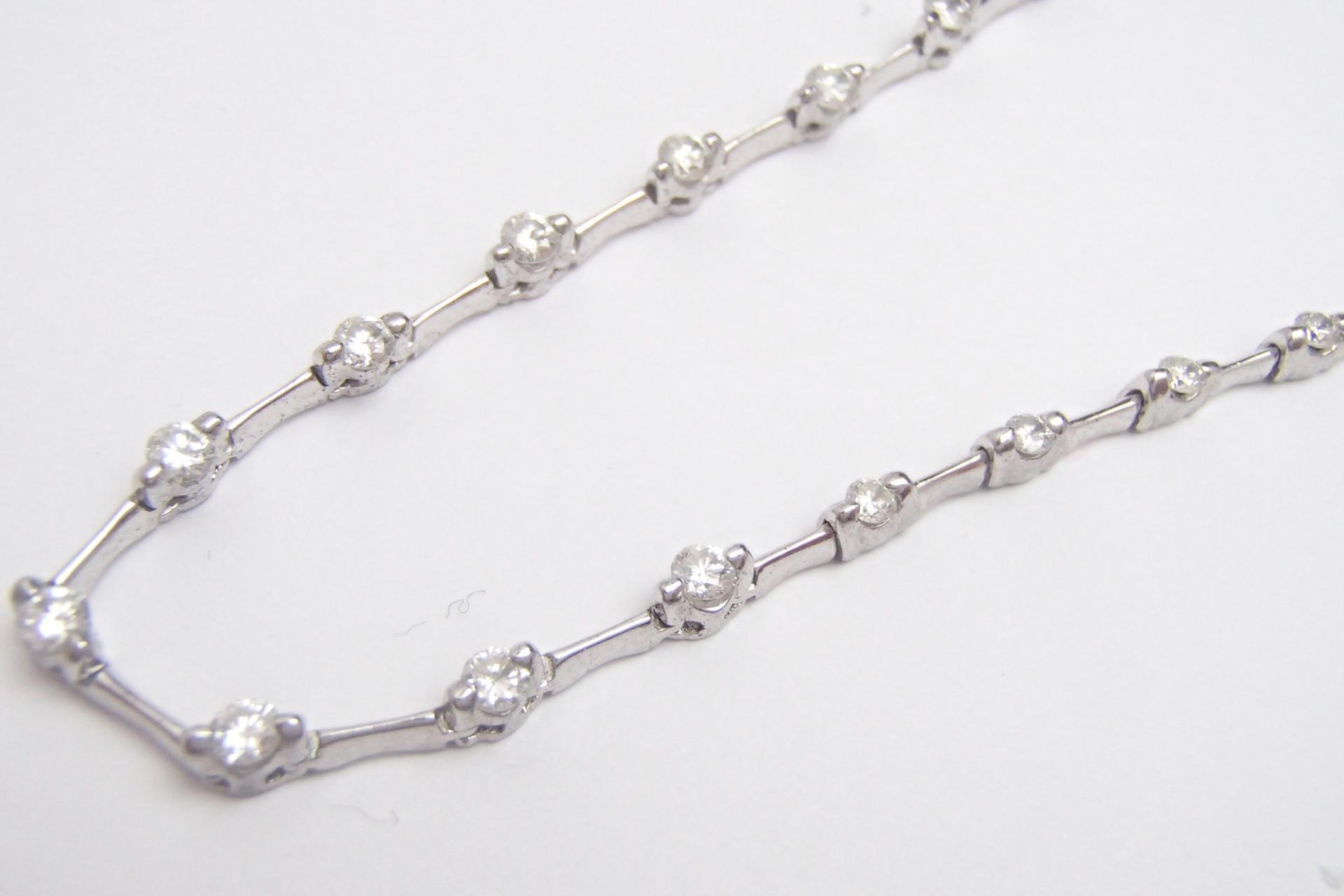 ダイヤのネックレスを高額買取しました! 千葉県のお客様
