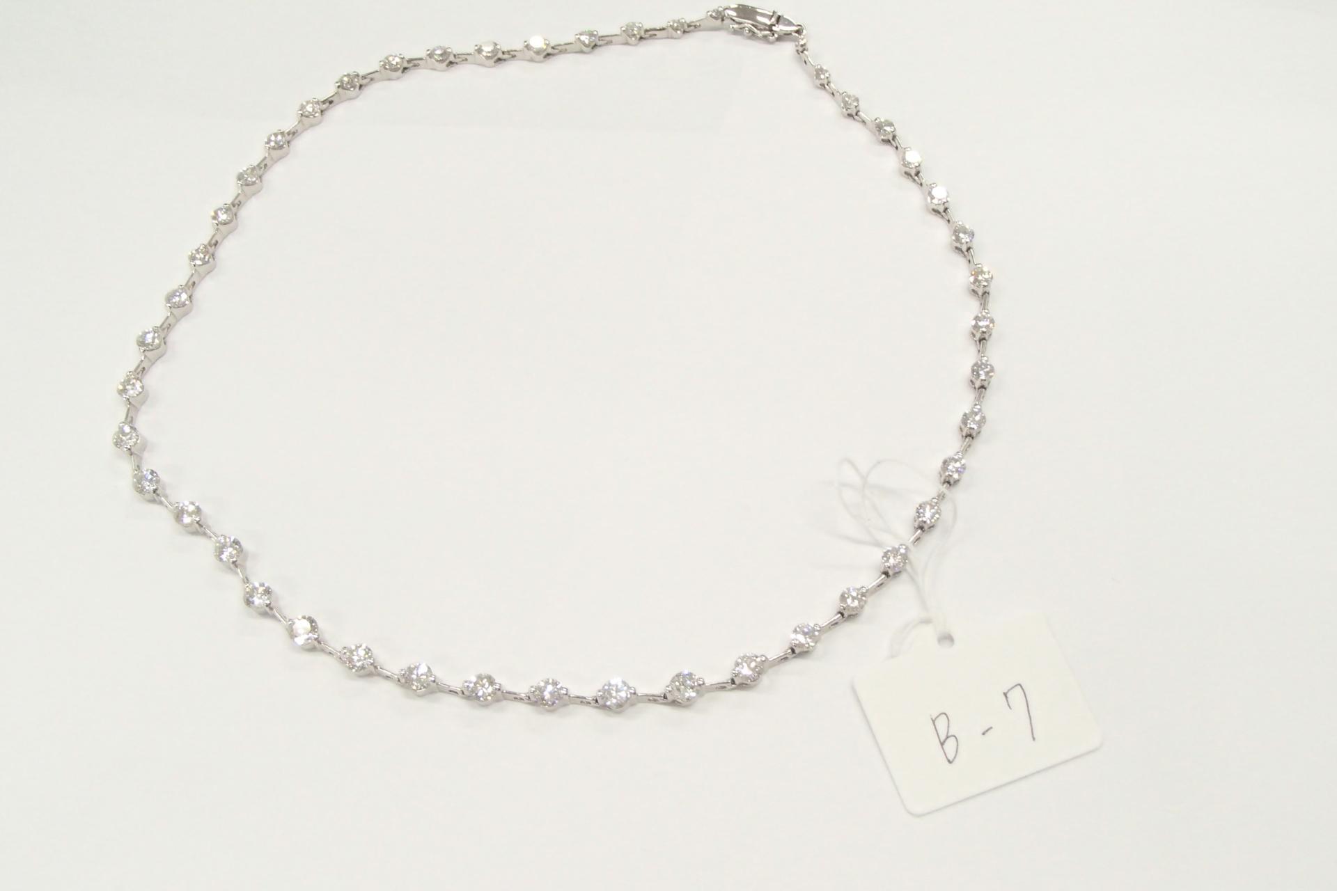 ダイヤのネックレスを高額買取しました! 神奈川県のお客様