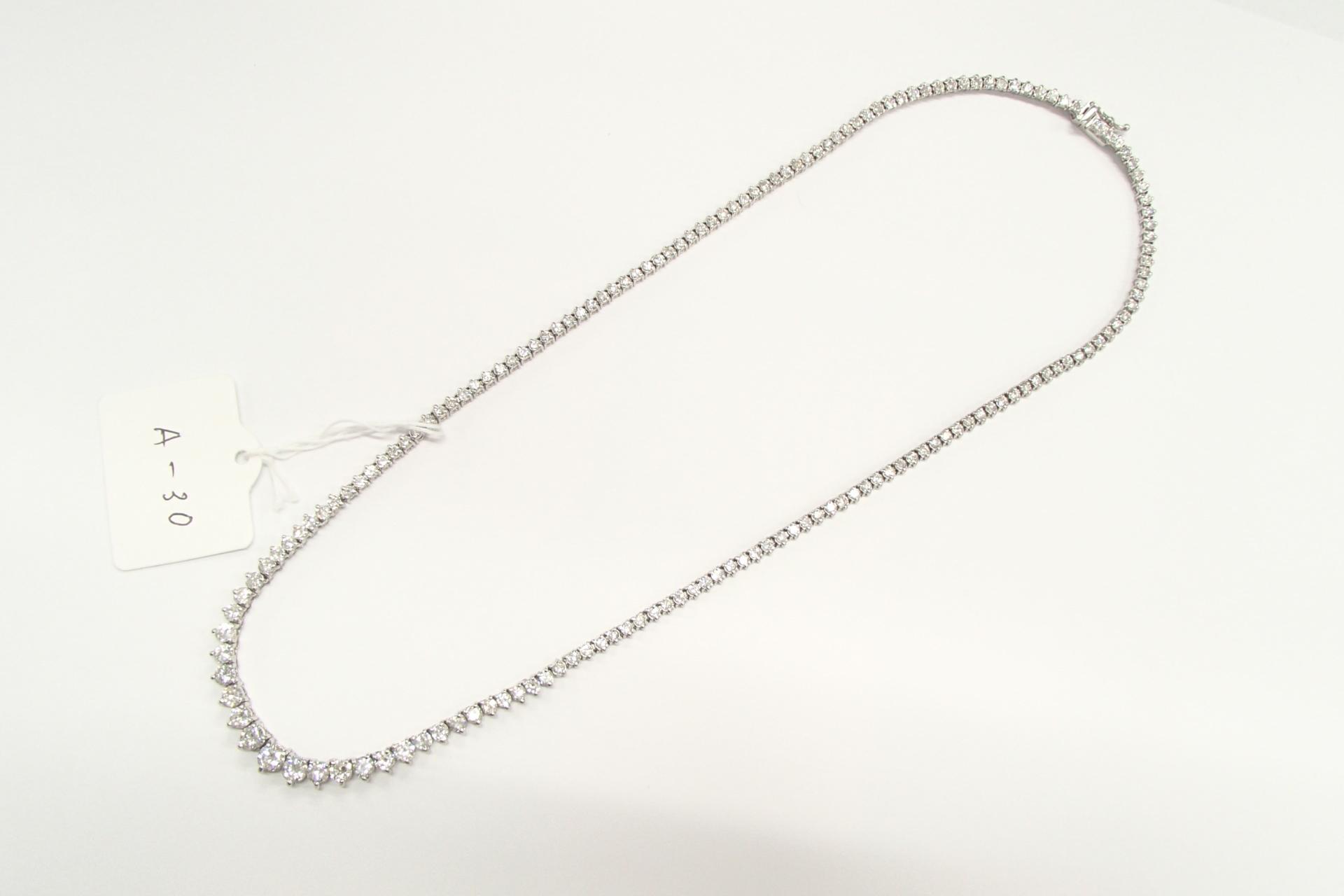 ダイヤのネックレスを高額買取しました! 東京都のお客様