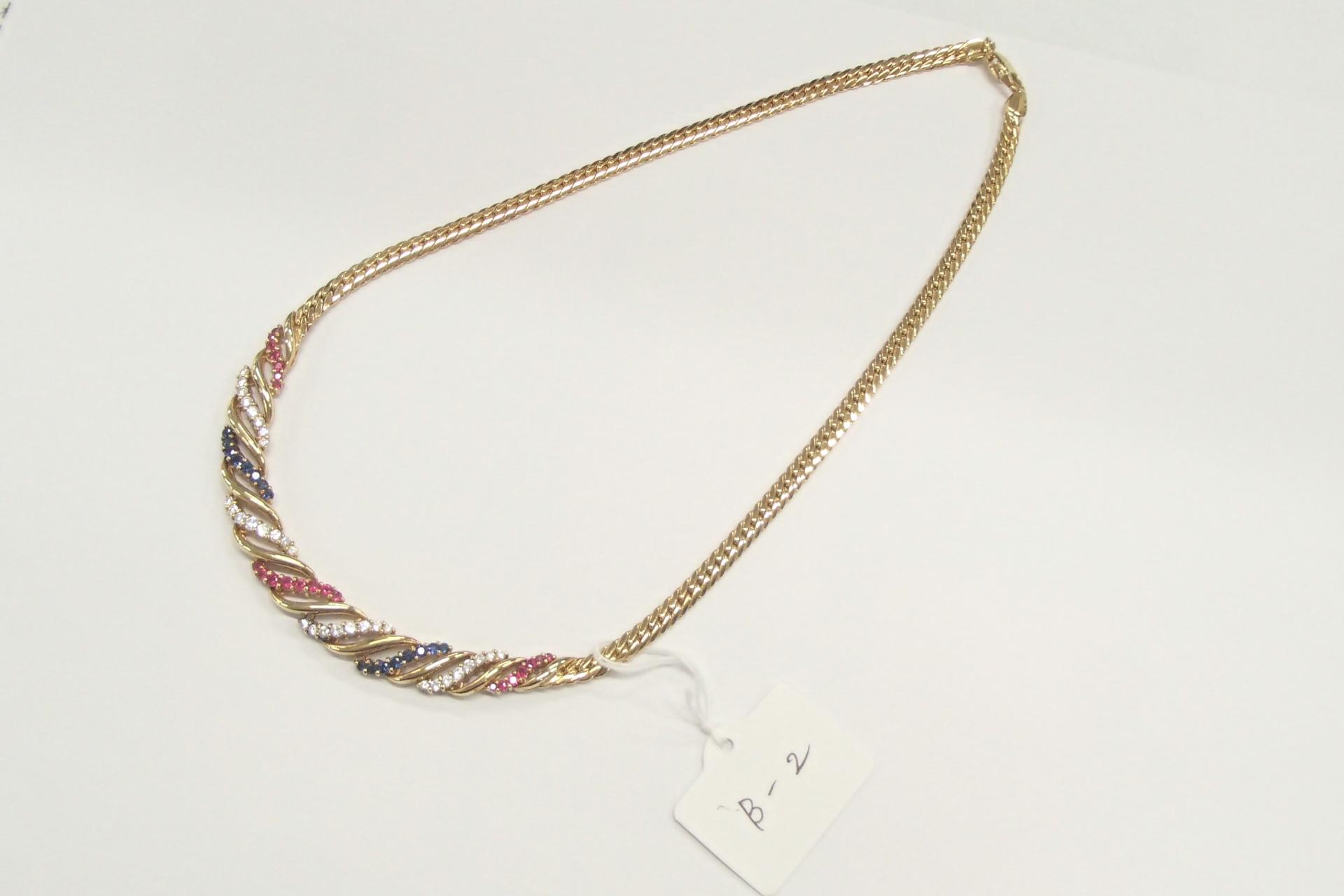 宝飾品のネックレスを高額買取しました! 東京都のお客様