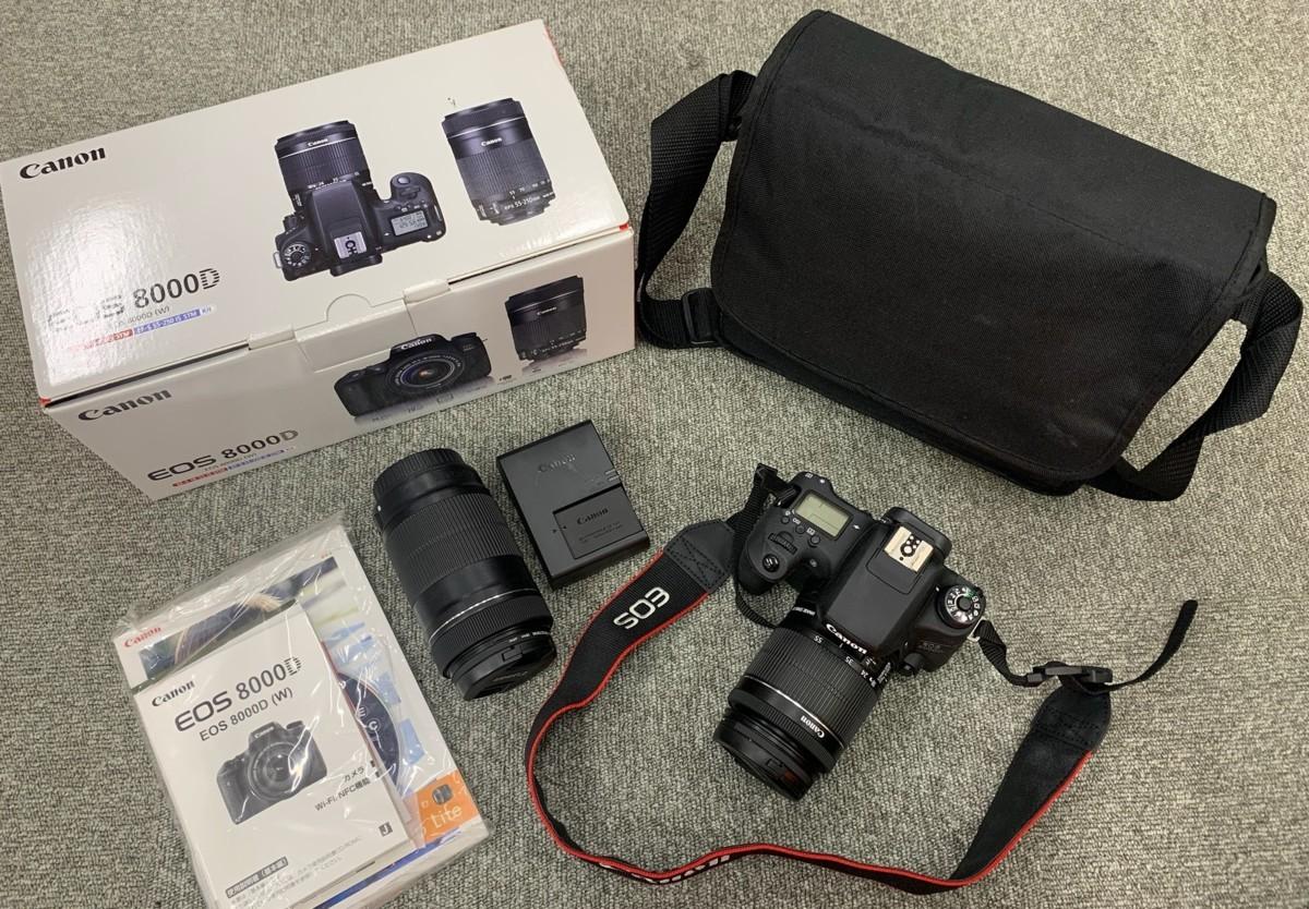 Cannonのカメラを高額買取しました! 秋田県のお客様