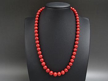 血赤珊瑚のネックレスを高額買取しました! 新潟県のお客様