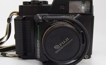 FUJI 6x4.5 GS645S Professional wide60 EBC FUJINON W 60mm F4 Medium Format Film Camera Rangefinder