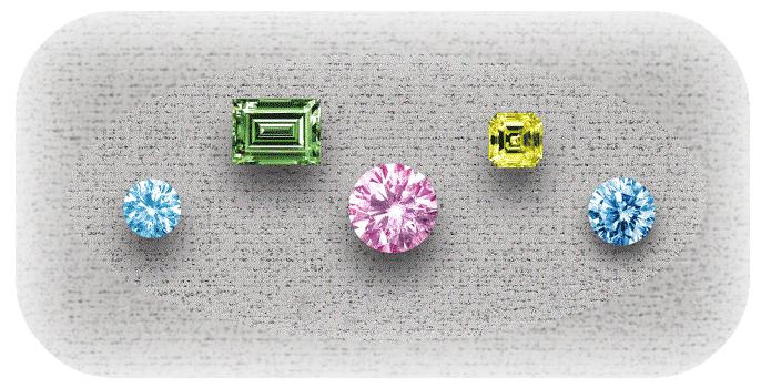 ファンシーカラーダイヤモンド買取