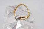 指輪が変形してしまったダイヤモンドリング買取