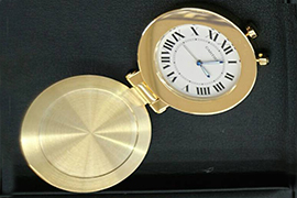 カルティエ時計保管について